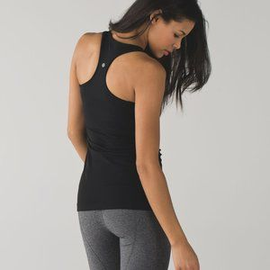 Lululemon Women's Size 6 Cool Racerback black